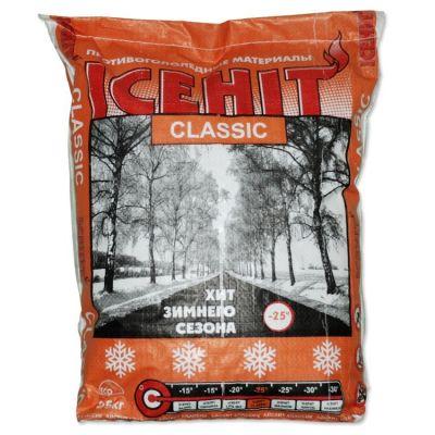 Противогололёдный реагент ICEHIT Classic (25 кг) до -25ºС