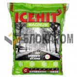 Антигололедный реагент ICEHIT Magnum (мешок 25 кг) до -25ºС