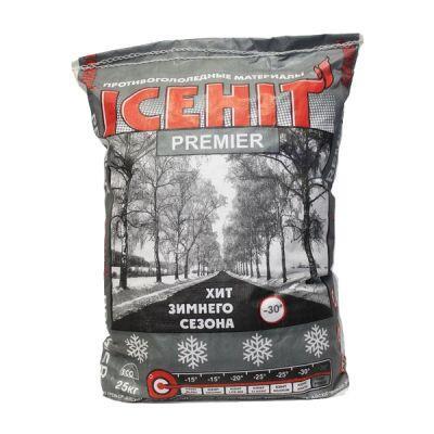 Противогололедный реагент ICEHIT Premier (25 кг) до -30ºС
