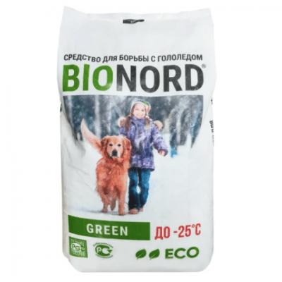 Противогололедный реагент BIONORD GREEN (23 кг) до -25ºС