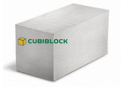 Пенобетонный блок Cubi D-600 625x250x400