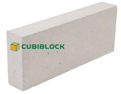 Пенобетонный блок Cubi D-500 625х200х125