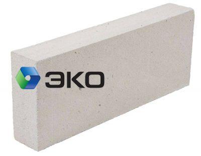 Пенобетонный блок Эко D-400 600x100x250