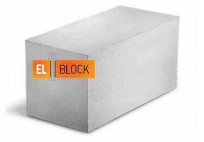 Пенобетонный блок El-Block D-400 600x250x200