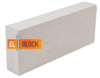 Пенобетон El-Block D-500 600x250x100