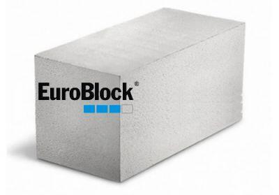 Пенобетонный блок Euroblock D500 600х250х250