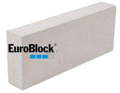 Пенобетонный блок Euroblock D-400 600x250x100