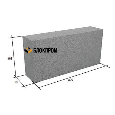 Перегородочный полнотелый бетонный блок СКЦ-3ЛК плотность 2250