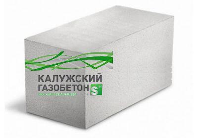 Пенобетонный блок Калужский газобетон D-600 625x250x450