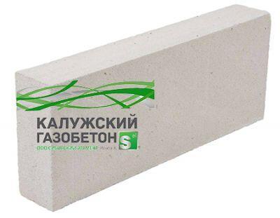 Пенобетонный блок Калужский газобетон D-400 625x250x125