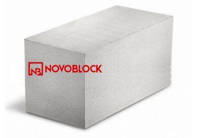 Пенобетонный блок Novoblock D-600 625x400x250