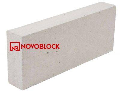 Пенобетонный блок Novoblock D-500 600x100x250