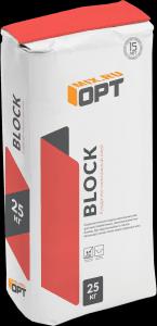 Клей для газоблоков OPT BLOK (25 кг)