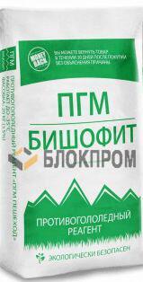 Противогололедный реагент ПГМ БИШОФИТ (Хлористый магний) (25 кг) до -25ºС