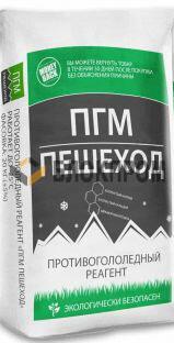 Противогололедный реагент ПГМ ПЕШЕХОД (25 кг) до -25ºС