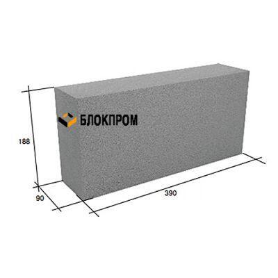 Полнотелый перегородочный бетонный блок СКЦ-3ЛК плотность 2200