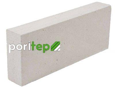 Пенобетонный блок Poritep D-500 625x125x250