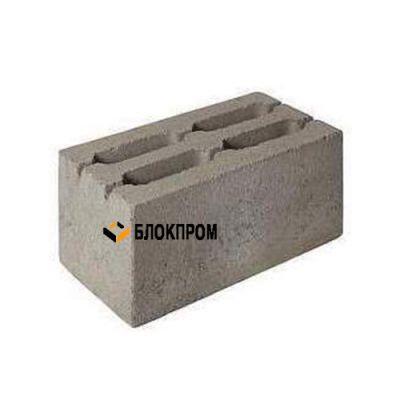 Четырехщелевой стеновой бетонный блок СКЦ-4ЛГ плотность 1260 (40х20х20)