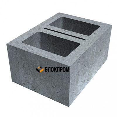 Двухпустотный стеновой блок КСР-ПР-ПС-39-100- F75-1100