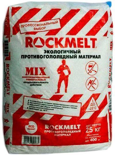 Антигололедный реагент ROKCMELT Mix (20 кг) до -25ºС