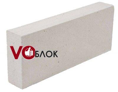 Пенобетонный блок Воблок D-600 600x300x100